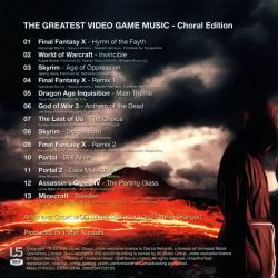 The Greatest Video Game Music III - Choral Edition - VGMdb