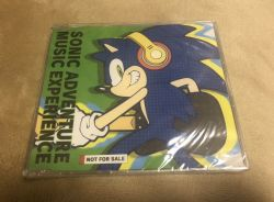 SONIC ADVENTURE MUSIC EXPERIENCE vol 2