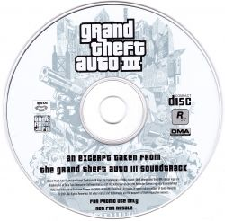 Grand Theft Auto III Soundtrack Sampler (White) - VGMdb