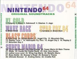 Nintendo 64 Original Soundtrack Greatest Hits - VGMdb