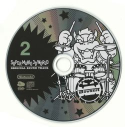 NTDT-17289~90   SUPER MARIO 3D WORLD ORIGINAL SOUND TRACK
