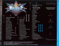 LACA-9315~7 | BLAZBLUE PHASE III CHRONOPHANTASMA Original Soundtrack