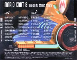 NTDT-17298~9 | MARIO KART 8 ORIGINAL SOUND TRACK - VGMdb